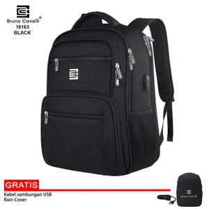 Harga bruno cavalli tas ransel laptop waterproof 18163   backpack pria   | HARGALOKA.COM