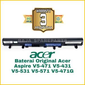 Harga baterai battery original laptop acer aspire e14 es1 411 e1 410 | HARGALOKA.COM