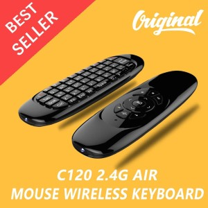 Harga air mouse wireless keyboard remote control for android tv | HARGALOKA.COM