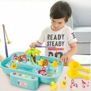 Harga mainan fishing game kolam pancing ikan   mainan kolam ikan | HARGALOKA.COM
