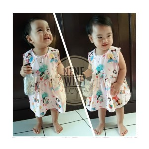 Harga dress bayi perempuan seri motif lucu baju bayi perempuan anak   motif 1   HARGALOKA.COM