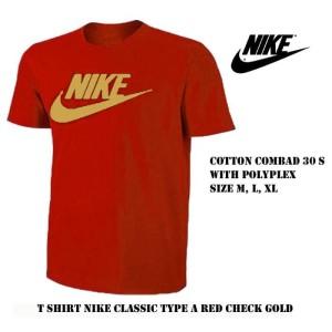 Harga kaos pria nike merah tshirt baju sport bola olahraga distro lari | HARGALOKA.COM