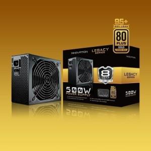 Harga psu innovation 500w 80 gold garansi 8 tahun ganti baru bonus   HARGALOKA.COM