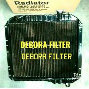 Harga radiator toyota hardtop bensin jeep 2f fj 46 3 ply thn 77   | HARGALOKA.COM