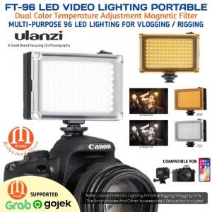 Harga ulanzi video light dslr smartphone 96 led lampu studio foto 96led | HARGALOKA.COM