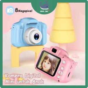 Harga kids camera   kamera digital mini anak   dslr   mainan kamera anak   merah   HARGALOKA.COM
