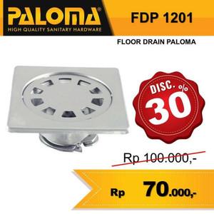 Harga paloma fdp 1201 floor drain lubang saringan air wc kamar   HARGALOKA.COM