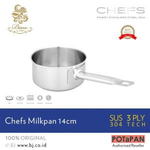 Harga panci bima milk pan d14cm x h7cm 1 1l sus | HARGALOKA.COM