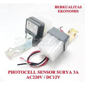 Harga sensor control cahaya photocell fotocell photo foto cell electric 3a   dc | HARGALOKA.COM