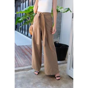 Harga celana kulot wanita culotte linen premium 3 varian warna   | HARGALOKA.COM