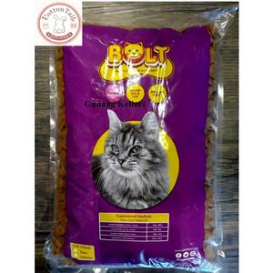 Harga makanan kucing bolt repack 1kg murah tuna cat food murah   bentuk   HARGALOKA.COM