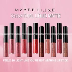 Harga maybelline lipstick sensational liquid | HARGALOKA.COM