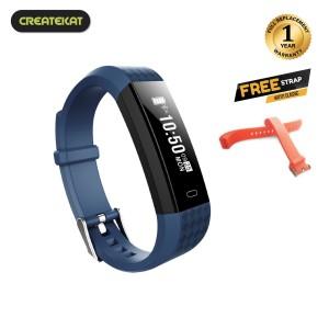 Harga createkat smartwatch pengisian portabel usb smart band katfit | HARGALOKA.COM
