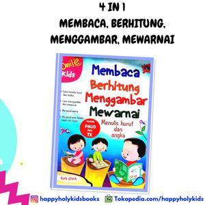 Harga buku anak buku membaca berhitung menggambar | HARGALOKA.COM