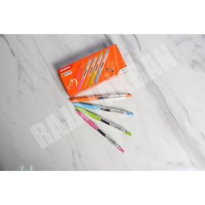 Harga pen ballpaint zebra kokoro sweet tinta hitam ecer | HARGALOKA.COM