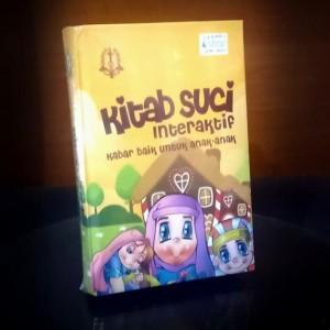 Harga kitab suci interaktif kabar baik untuk anak   anak | HARGALOKA.COM