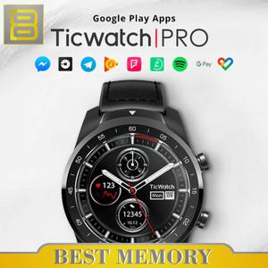 Harga ticwatch pro smartwatch wear os 1 4 34 amoled led display   | HARGALOKA.COM