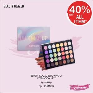 Harga ready amp ori beauty glazed blooming up eyeshadow pallete   b77 b | HARGALOKA.COM