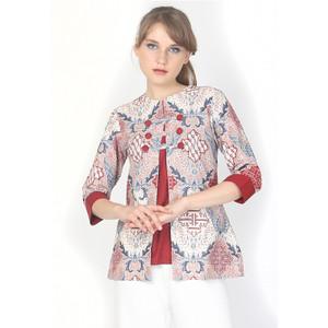 Harga nayara gilby blouse batik atasan wanita   | HARGALOKA.COM
