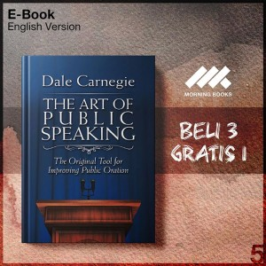 Harga the art of public speaking the original tool for improving | HARGALOKA.COM