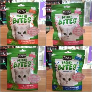 Katalog Cemilan Favorit Kucing Kit Cat Breath Bites Tuna Flavour 60gram Katalog.or.id