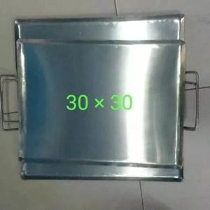 Harga wajan plat persegi uk 30x30 untuk roti bakar kebab | HARGALOKA.COM