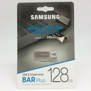 Harga flashdisk 128 gb samsung bar plus flash drive usb 3 | HARGALOKA.COM