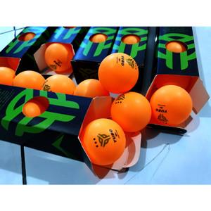 Harga bola pingpong bola tenis meja yubo 40 abs 3star isi 6 murah bagus   | HARGALOKA.COM