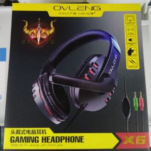 Harga headset gaming ovleng x6 ovleng x6 headphone gaming ori murah   HARGALOKA.COM