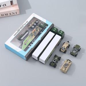 Harga ximivogue sliding alloy army container truck mobil mainan anak   | HARGALOKA.COM