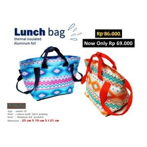 Harga tas bekal lunch bag aluminum foil the day bag 10   | HARGALOKA.COM