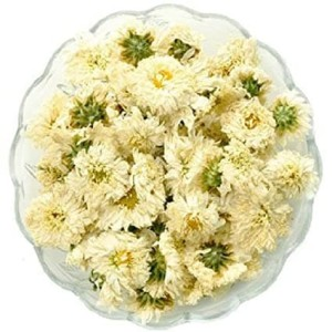 Harga teh bunga krisan putih dried white chrysantenum herbal flower tea   | HARGALOKA.COM