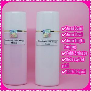 Harga hb dosting handbody lotion pemutih whitening original pemutih dosis   HARGALOKA.COM