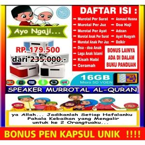 Harga speaker alquran digital speaker murotal | HARGALOKA.COM