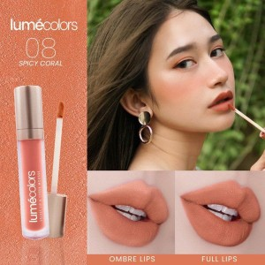Harga lipstick lumecolors spicy coral lipmousse lipstik lumecolor lip | HARGALOKA.COM