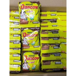 Harga susu bubuk instant dancow coklat 1 renceng 10 x   HARGALOKA.COM