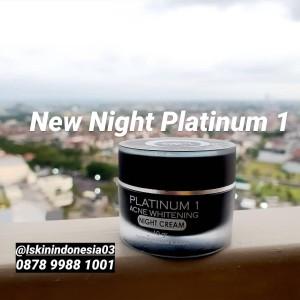 Harga lskin lskin l skin face night cream whitening platinum 1 normal   HARGALOKA.COM