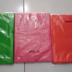 Harga kantong plastik hd plong ukuran 25x35 shopping bag online shop warna   HARGALOKA.COM