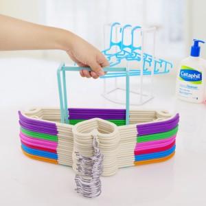 Harga hanger organizer rak gantungan baju lebih rapi stand | HARGALOKA.COM