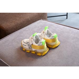 Harga sepatu sneakers anak laki laki pod sys 015 fusion c fashion sepatu led   kuning | HARGALOKA.COM