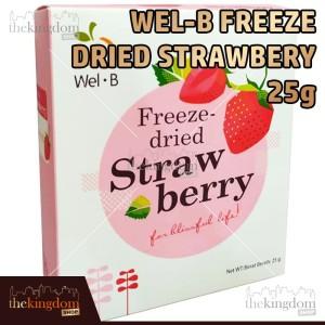 Harga wel b freeze dried fruits strawberry 25g baby food makanan snack | HARGALOKA.COM