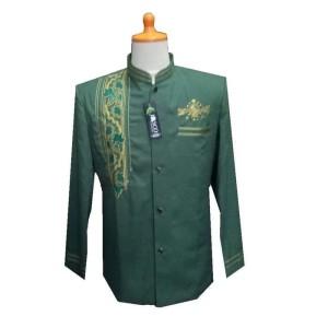 Harga jasko tasik merk jasco hijau logo nu busana muslim pria baju adat   hijau   HARGALOKA.COM