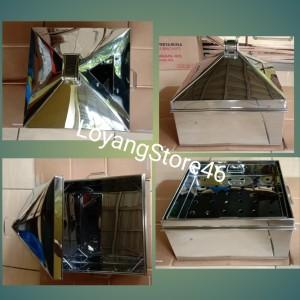 Harga klakat kukusan ukuran 40x40 bahan stainless free loyang | HARGALOKA.COM