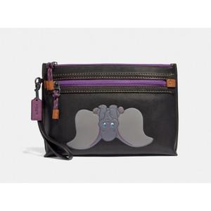 Harga coach x disney academy handbag pouch with dumbo   original 100 | HARGALOKA.COM