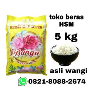 Harga beras bunga pandan wangi asli 5kg harga grosir | HARGALOKA.COM