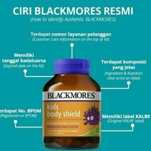 Harga vitamin c anak anak blackmore body kids isi | HARGALOKA.COM