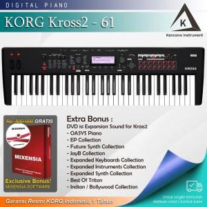 Harga korg kross2 61 kross 2 keyboard synthesizer garansi | HARGALOKA.COM