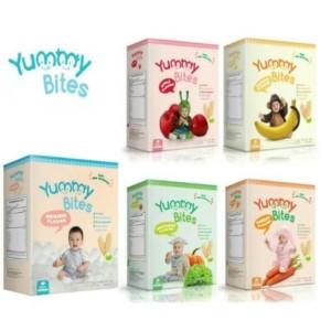 Harga yummy bites baby rice crackers termurah snack bayi original halal   | HARGALOKA.COM