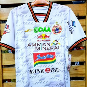 Harga jersey away persija replica player 2020 original 100   putih | HARGALOKA.COM