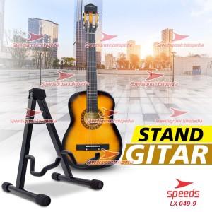 Harga alat musik stand gitar universal import stand bass model lipat | HARGALOKA.COM